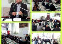 دیدار دکتر سعید باستانی به همراه تعدادی از مسئولین شهرستانی، با مردم  مهربان و باصفای روستای کاج درخت بخش مرکزی شهرستان تربت حیدریه